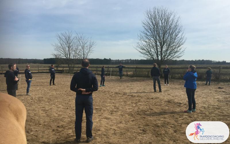 11.Leiderschapstraining paarden teamtripper JCI Ede Laag Soeren april 2018