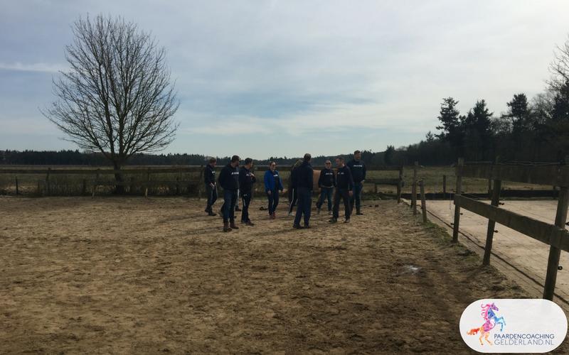 14.Leiderschapstraining paarden teamtripper JCI Ede Laag Soeren april 2018