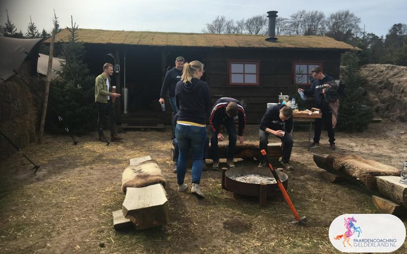 17.Leiderschapstraining paarden teamtripper JCI Ede Laag Soeren april 2018