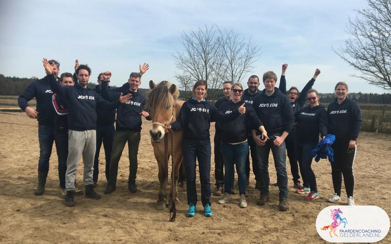 4.Leiderschapstraining paarden teamtripper JCI Ede Laag Soeren april 2018
